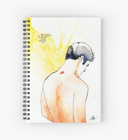 Darren Criss Spiral Notebook