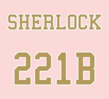 Sherlock 221B Jersey Kids Tee