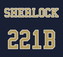 Sherlock 221B Jersey Kids Clothes
