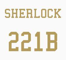 Sherlock 221B Jersey One Piece - Short Sleeve