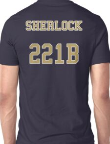 Sherlock 221B Jersey Unisex T-Shirt