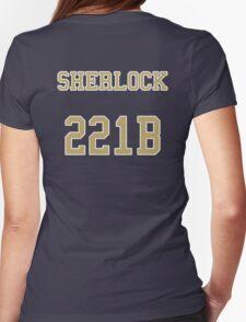 Sherlock 221B Jersey Womens Fitted T-Shirt