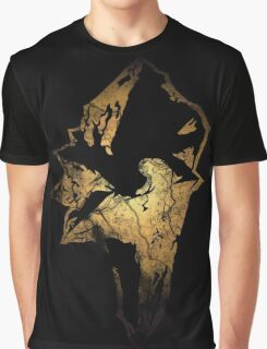 Final Fantasy IX logo grunge Graphic T-Shirt
