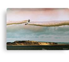 Aerobics Canvas Print