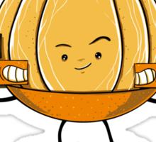 Orange Recall Sticker