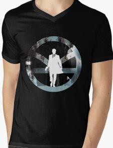Not Dead (I) Mens V-Neck T-Shirt