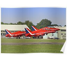Rotate!!  - The Red Arrows - Dunsfold 2013 Poster