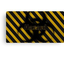 Hazard Canvas Print