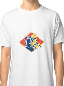Sandblaster Sandblasting Hose Retro Classic T-Shirt