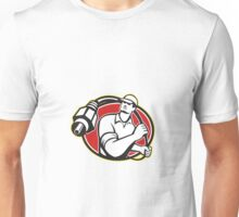 Cable TV Installer Guy Unisex T-Shirt