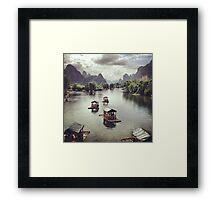 Yangshuo Framed Print
