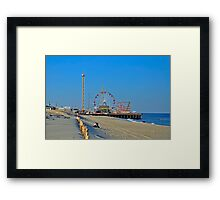 Summer Fun - Funtown Pier Seaside Heights NJ Framed Print