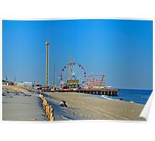 Summer Fun - Funtown Pier Seaside Heights NJ Poster