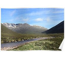 Morning in the Cairngorms Poster