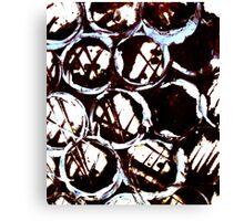 splattering & masking Canvas Print