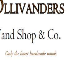 Ollivanders Wand Shop & Co.  Sticker