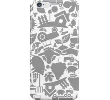 Background agriculture iPhone Case/Skin