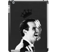 The King will rise iPad Case/Skin