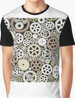 Background of gears Graphic T-Shirt
