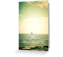 Now, bring me that horizon Greeting Card