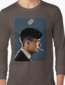 Peaky Blinders - clean background Long Sleeve T-Shirt