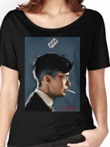 Peaky Blinders - clean background Women's Relaxed Fit T-Shirt