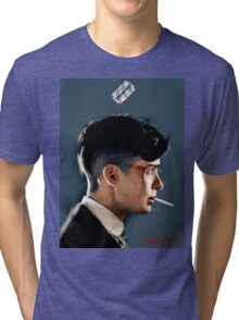 Peaky Blinders - clean background Tri-blend T-Shirt