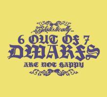 6 out of 7 Dwarfs Kids Clothes