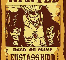 Eustass Kid Wanted Poster by Anuktoy