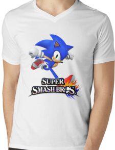 sonic Mens V-Neck T-Shirt