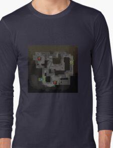 CSGO Mirage Map Long Sleeve T-Shirt