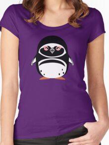 Cute: Magellanic Penguin Women's Fitted Scoop T-Shirt