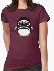 Cute: Magellanic Penguin Womens Fitted T-Shirt