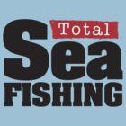 Total Sea Fishing logo (black) by dhpublishing