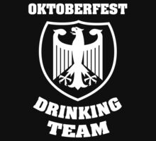 Oktoberfest Drinking Team by BrightDesign