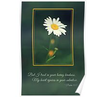 I Trust in Your Loving Kindness - Card Poster