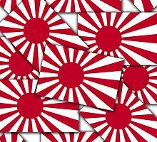 Smartphone Case - Flag of Japan (Ensign) Multiple I by Mark Podger
