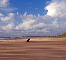 Rhossili Bay Gower Wales by Nick Jenkins