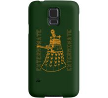 Exterminate Classic Doctor Who Dalek Graphic Samsung Galaxy Case/Skin
