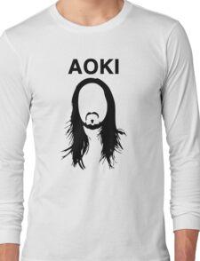 Steve Aoki (with text) Long Sleeve T-Shirt