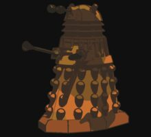 Funky Camo Sneaky Dalek Kids Clothes