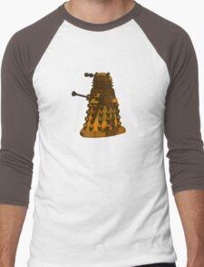 Funky Camo Sneaky Dalek Men's Baseball ¾ T-Shirt