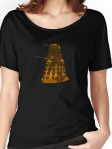 Funky Camo Sneaky Dalek Women's Relaxed Fit T-Shirt