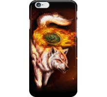 Okami wolf realistic style iPhone Case/Skin