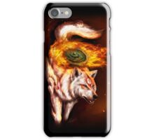 Okami wolf realistic style iPhone Case/Skin