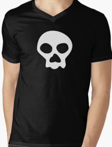 Jimbo Jones Skull Mens V-Neck T-Shirt
