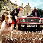 Sayings 'Dogs have Owners' by BBBango
