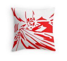 Batman in Red Throw Pillow
