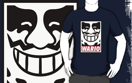 Obey Wario by Neil Gershon