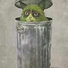 Grouchy Cat  by Terry  Fan